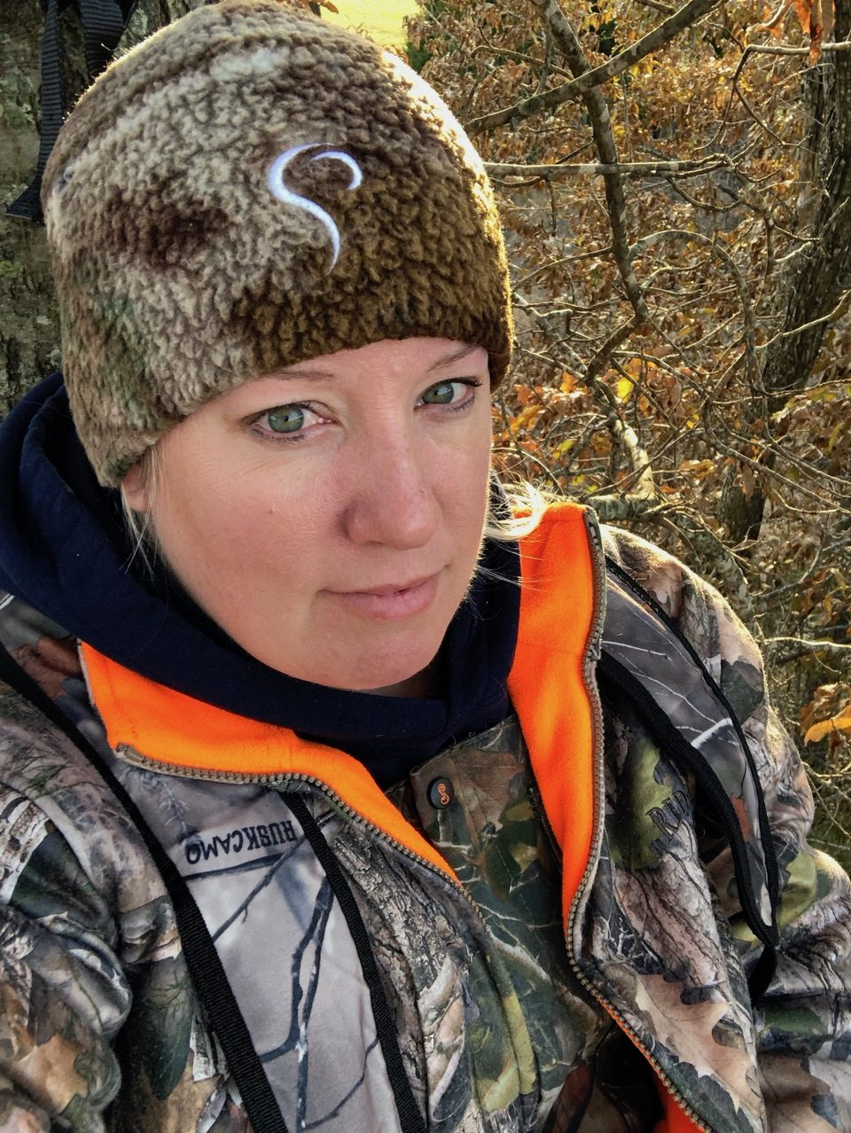 Stacy Bright hunting