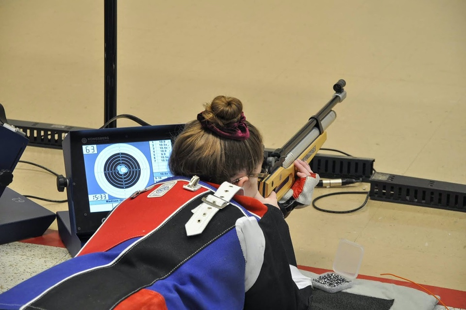 CMP South Competition Center Monitors Air Rifle