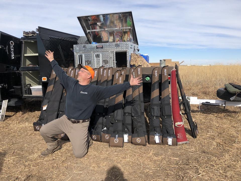 Dave Miller CZ-USA Shotgun