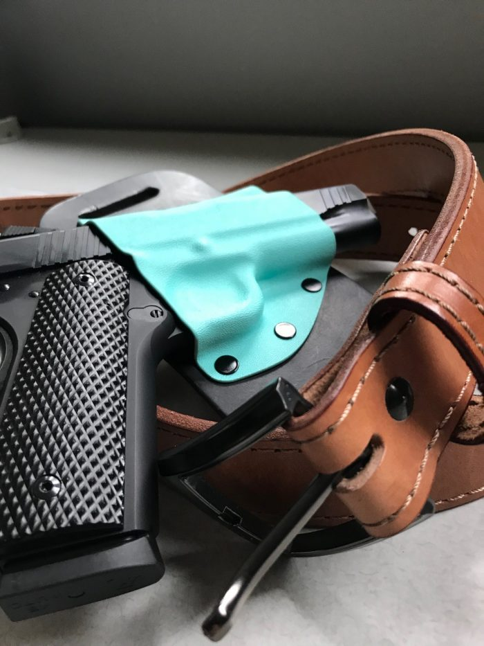 Crossbreed holster and gun belt