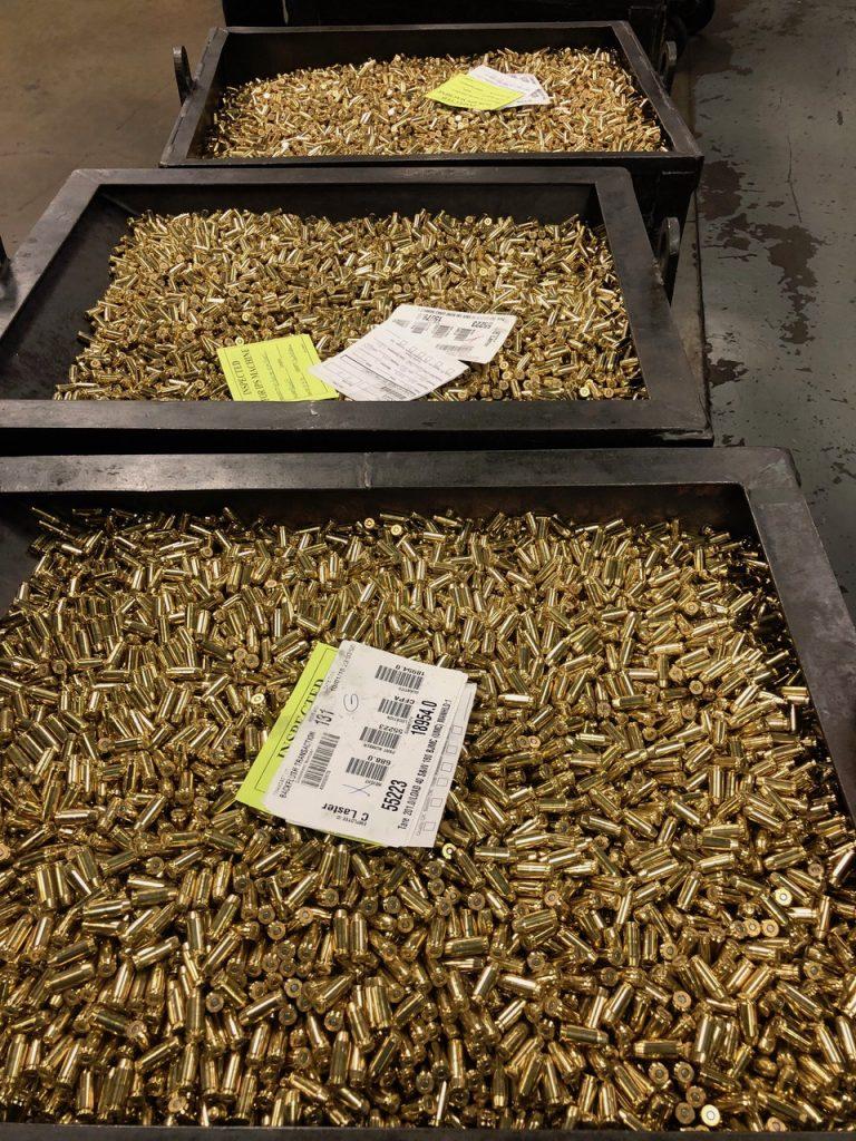 Remington Ammunition plant bins