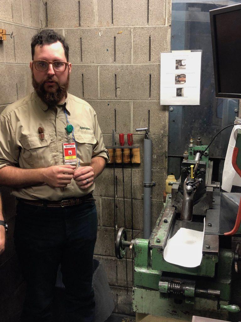 Remington Ammunition plant tour