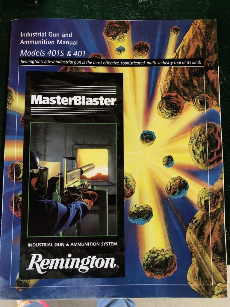 Remington MasterBlaster catalogue