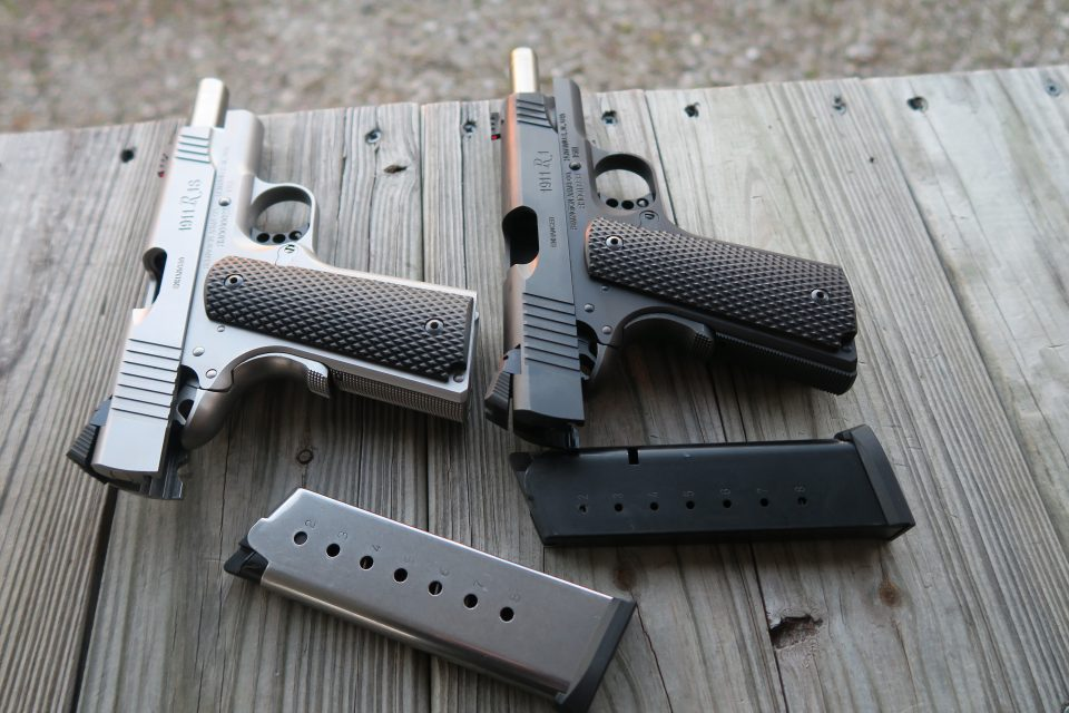Remington R1s 1911 Commanders
