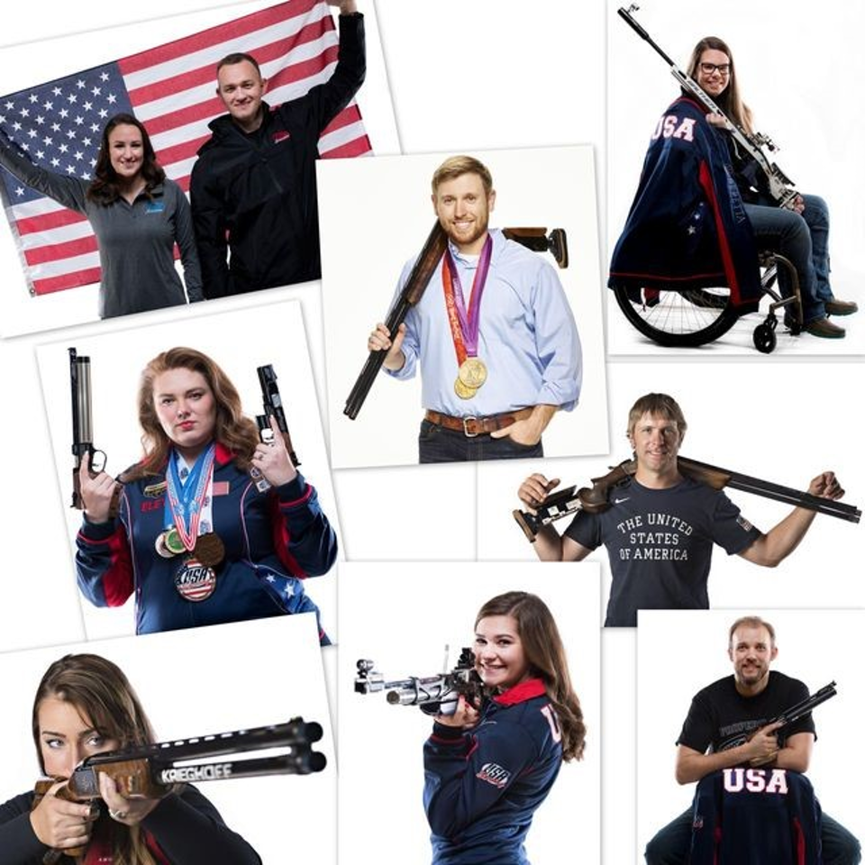 Shooting USA athletes