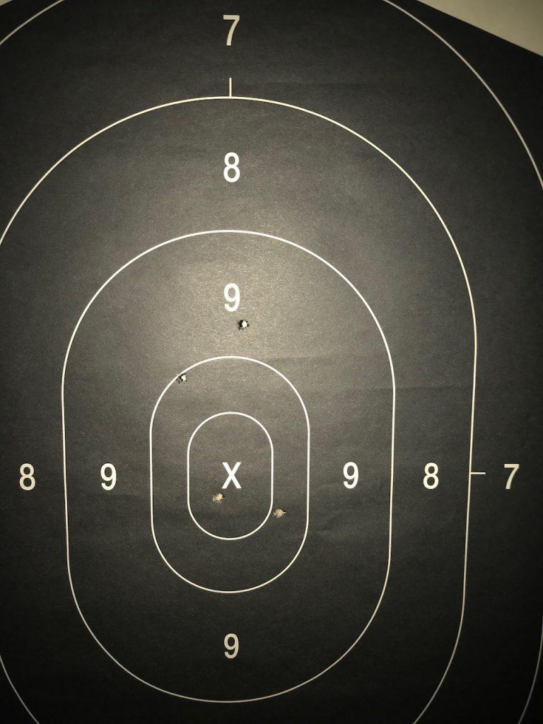 target on range
