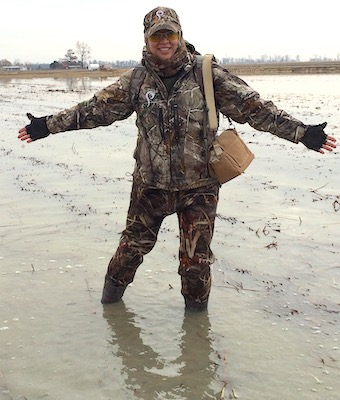 Girl Wash Your Waders