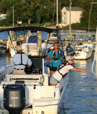 Boating Training feature