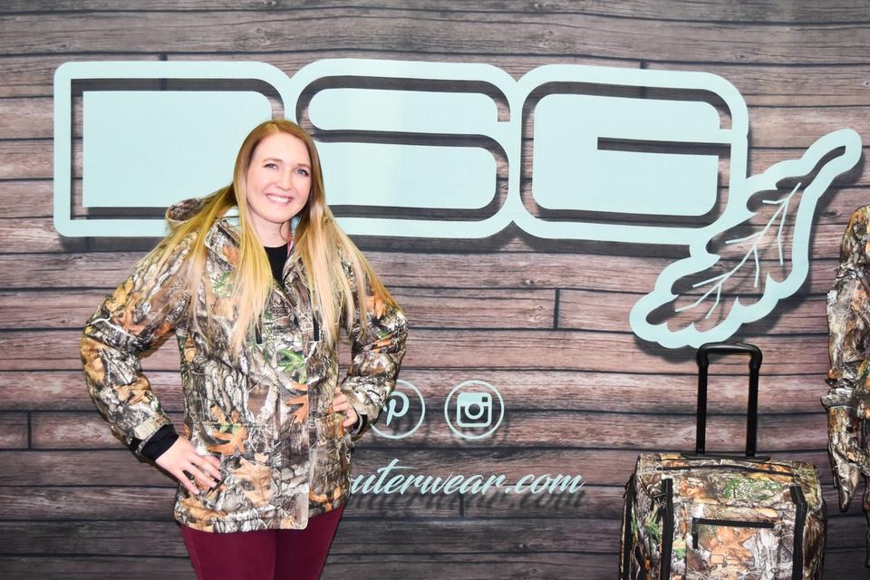 DSG Kylie female bow hunter