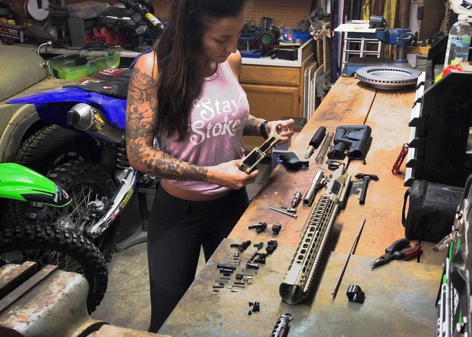 Jacqueline Building Aero Precision M5