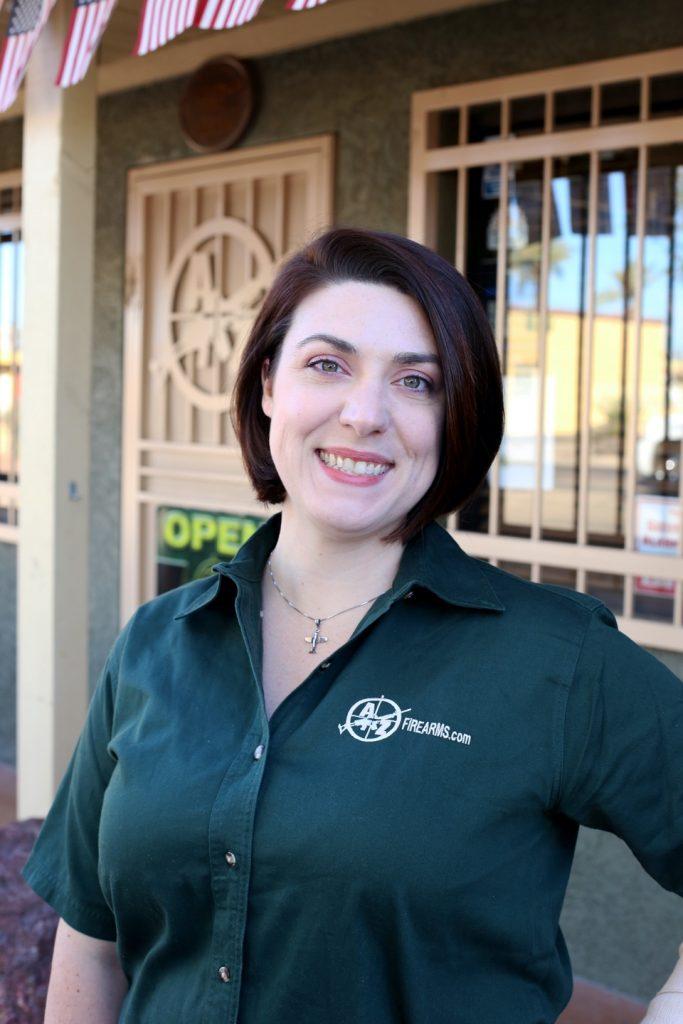 Kaitlyn Lentz AZfirearms firearms specialist