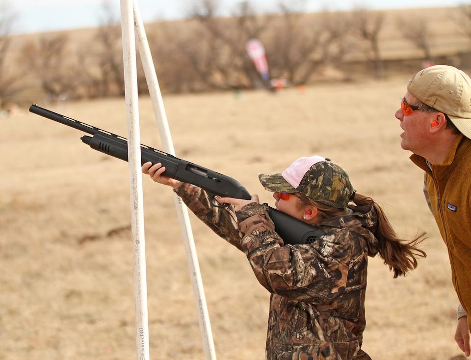 Kate Baxter on range