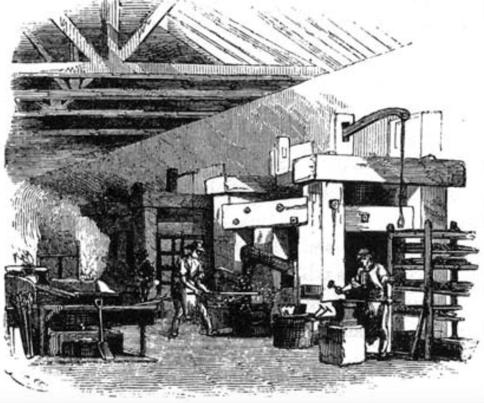 Springfield armory forging room