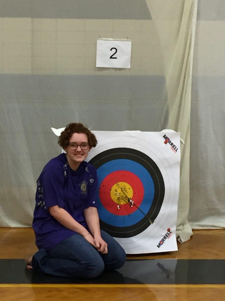 NASP Anna Herbert archery