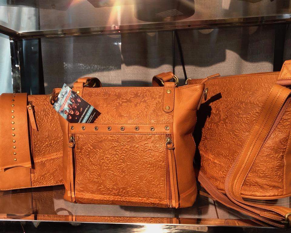 Bohemian Deboss print GTM handbags