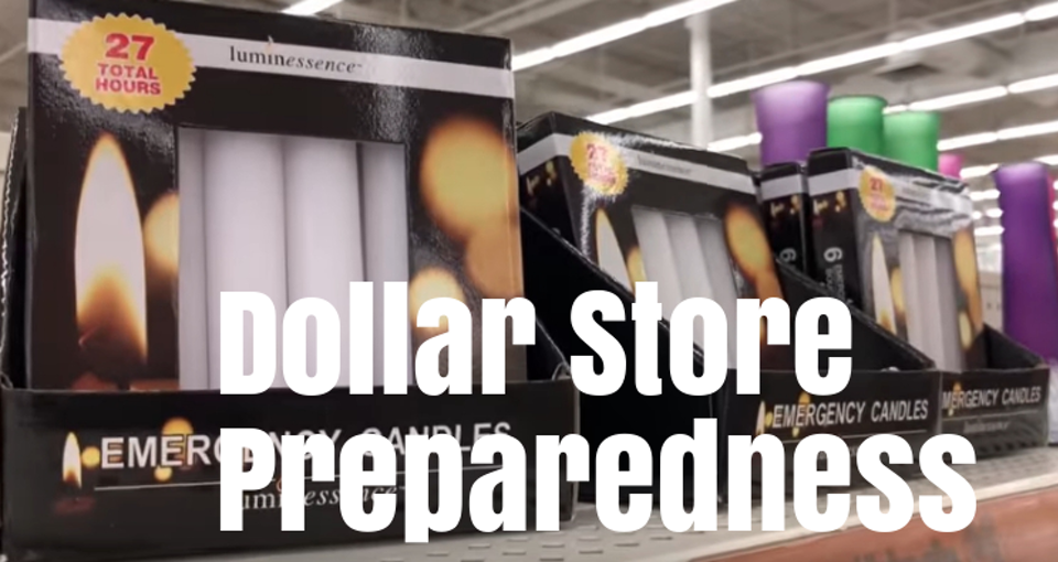 Dollar store dollar store prepper items Rogue Preparedness