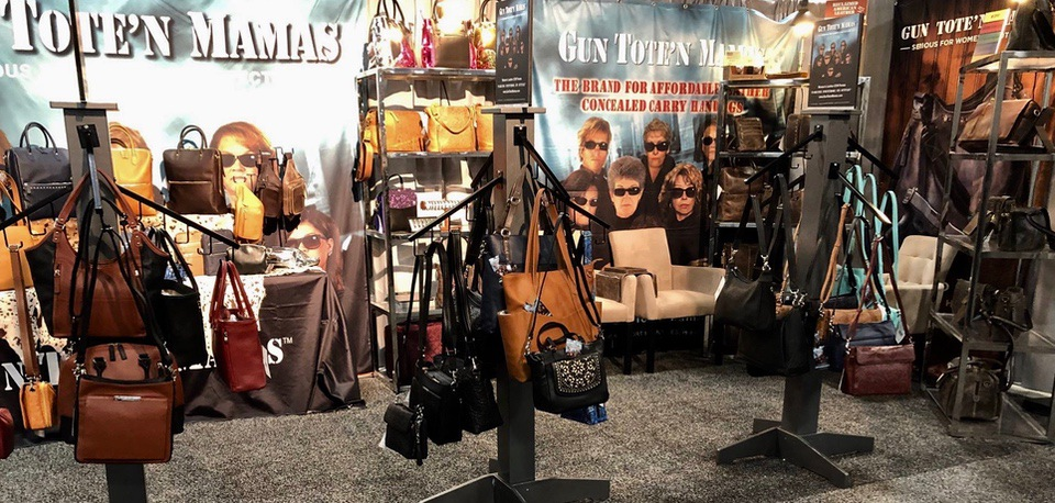 GTM CCW Purse SHOT Show Booth Claudia Chisholm