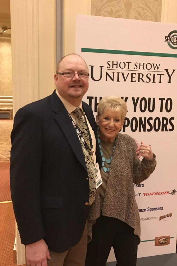 Nancy Friedman and Patrick Shay