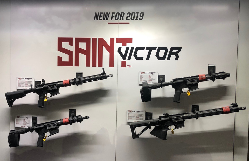 Springfield Saint Victor Display
