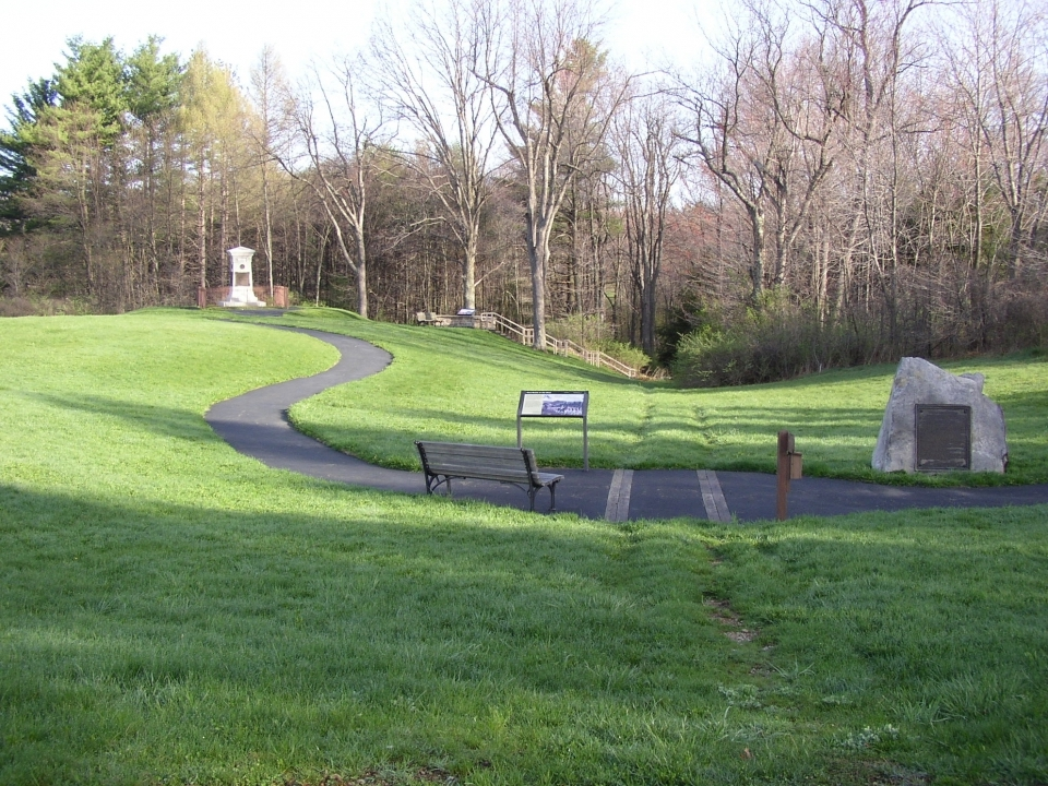 Braddock Grave Unit of Fort Necesstiy National Battlefield National Park Service