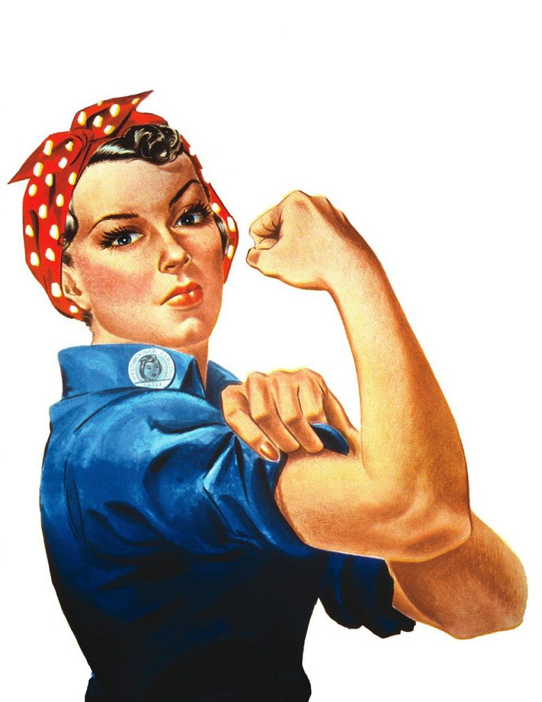 rosie the riveter Strength sells