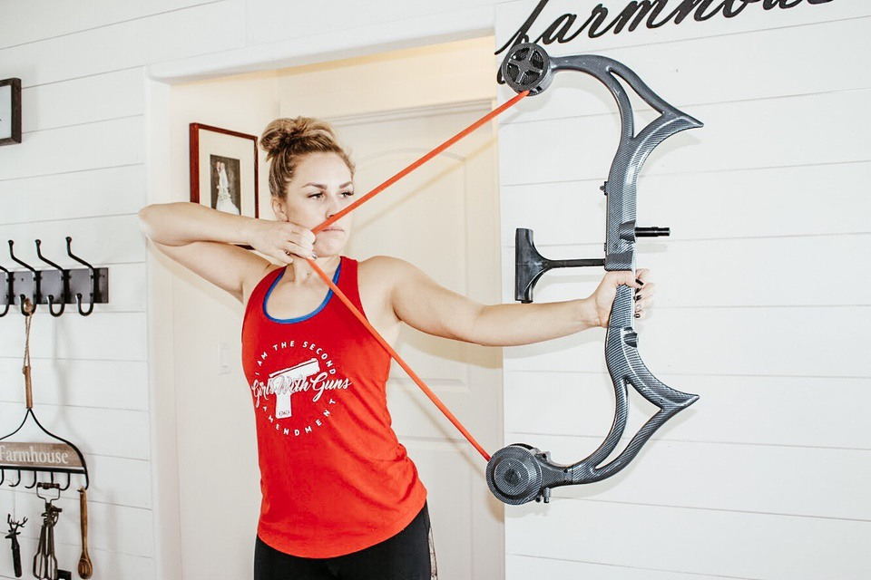 Sereena T AccuBow draw weight bow draw 4 Exercises to Help Increase Your Draw Weight