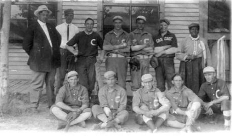 Stagecoach Mary Cascade Baseball team