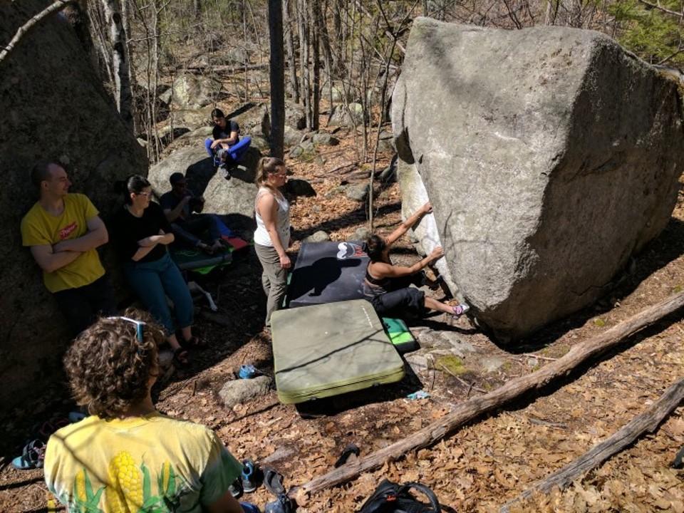 bouldering 99boulders