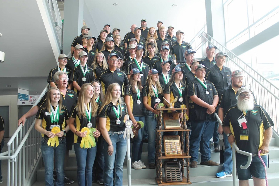 4-H state team of 2018 4-H Shooting Sports