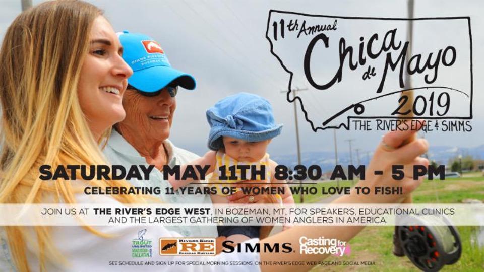 Chica De Mayo 19 Women's Fly Fishing Event