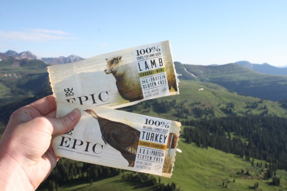 EPIC Meat Barsbackpacking food
