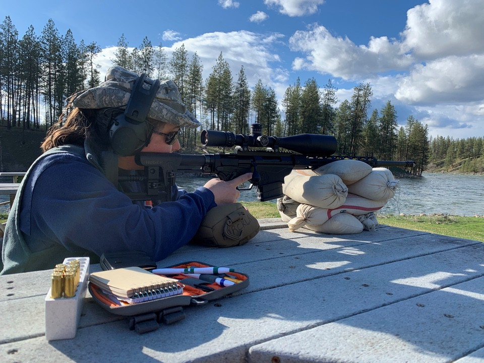 Shooting Ruger Precision Rifle 6.5 Creedmoor