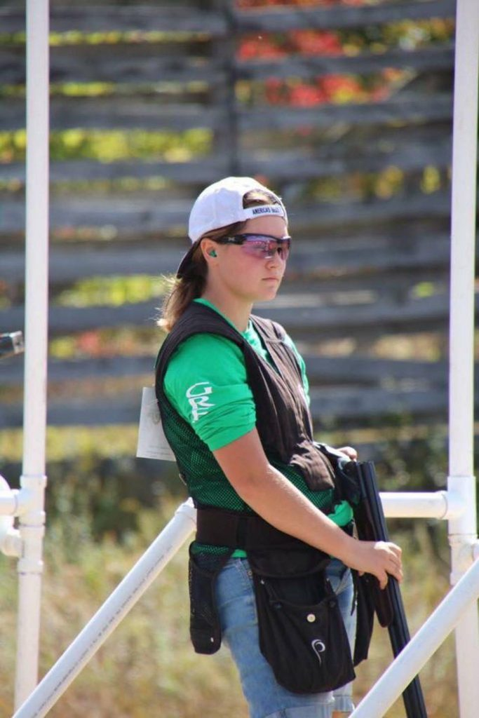 Makayla Scott 4-H Shooting Shotgun Sports