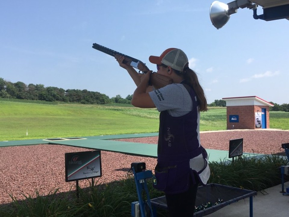 Makayla Scott Shooting International Trap1 Bunker Trap Shotgun Sports