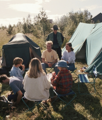 Camping and Fishing with Your Family feature