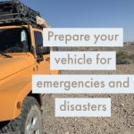 Carry in Your Car for Emergencies