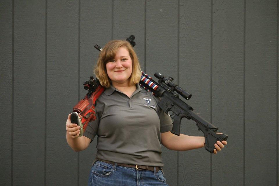 Long Range Competition Shooter Gabrielle Pitre 4