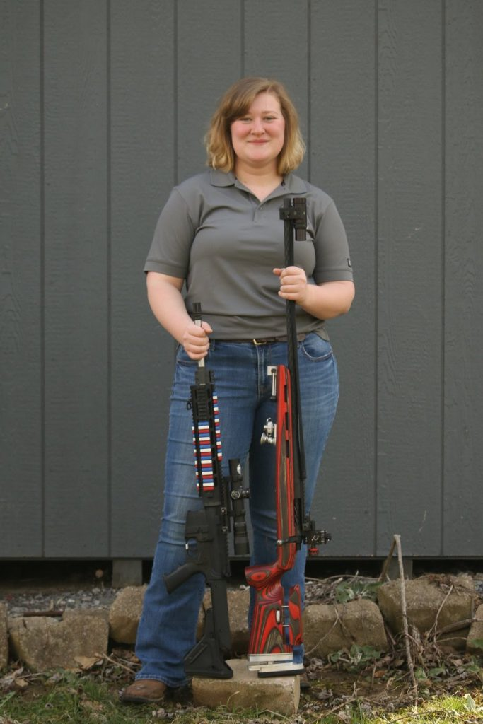 Long Range Competition Shooter Gabrielle Pitre