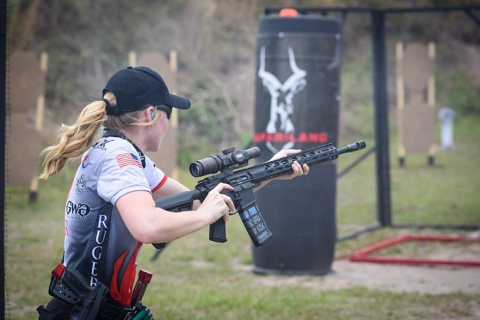 Beth Walker Ruger rifle competition