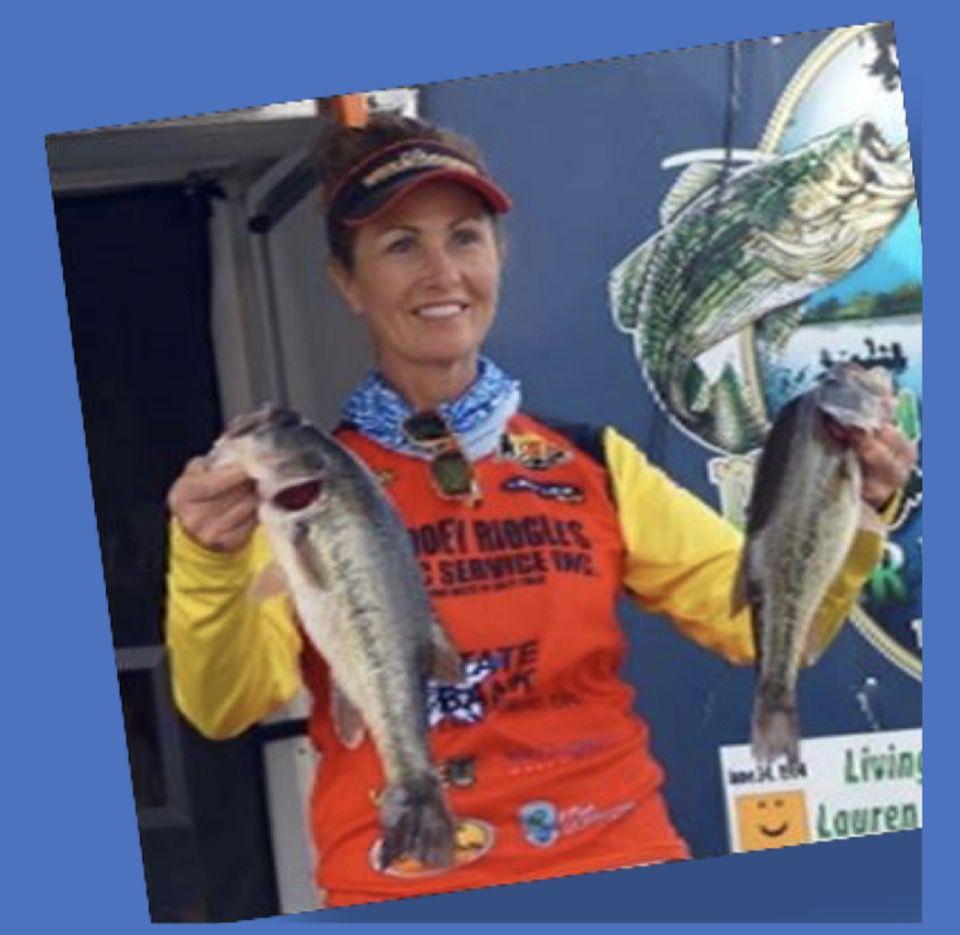 Pam Ridgle Texas Pro Angler Bass Fishing LBAA