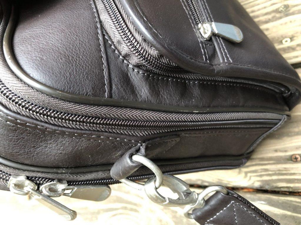 GTM-155 briefcase details Gun Tote'n Mamas