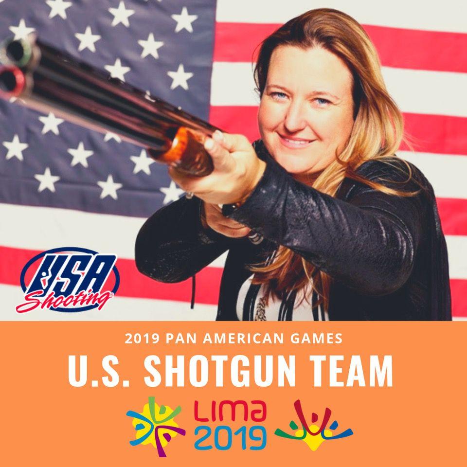 Kim Rhode shotgun pan american team