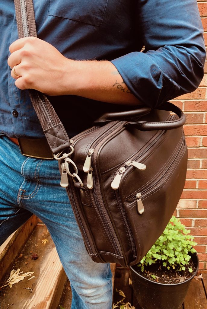 GTM-155 Men's Concealed carry briefcase
