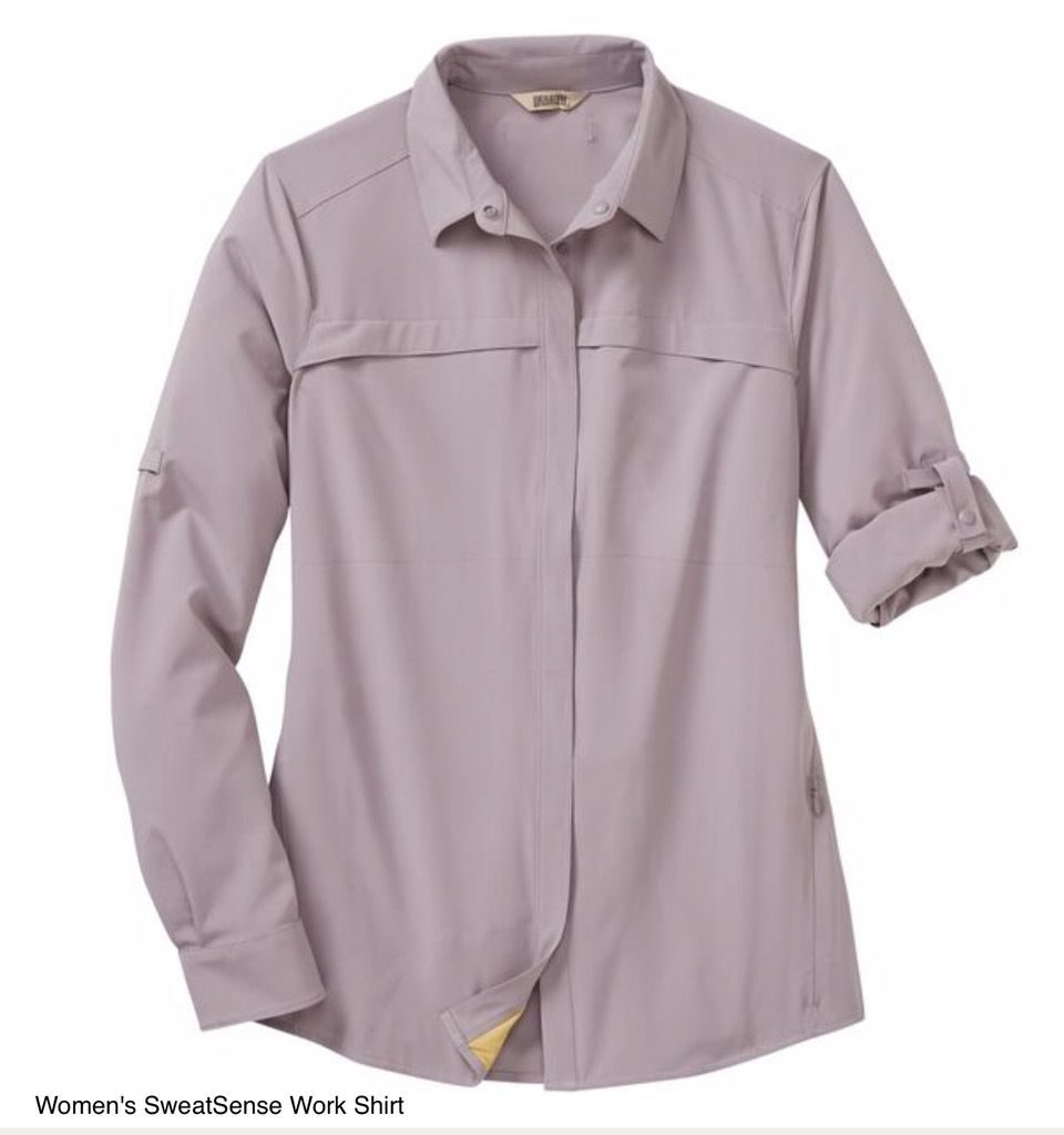 Duluth Trading Co. Women's SweatSense Work Shirt