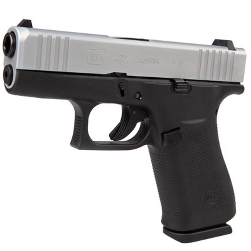 Glock 43X Stock subcompact