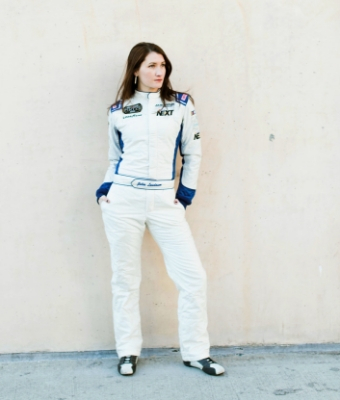 NASCAR Driver Julia Landauer