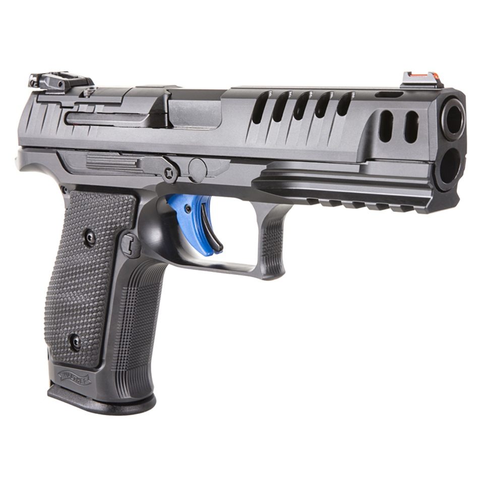 Walther-PPQ-Q5-SF Walther PPQ 5 Steel Frame Pistol Shooting with Optics