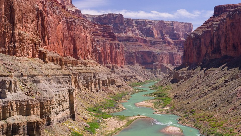 Grand Canyon river Cool National Parks national park vacation