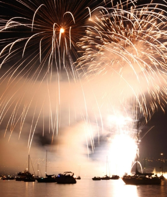 safe boating feature fireworks