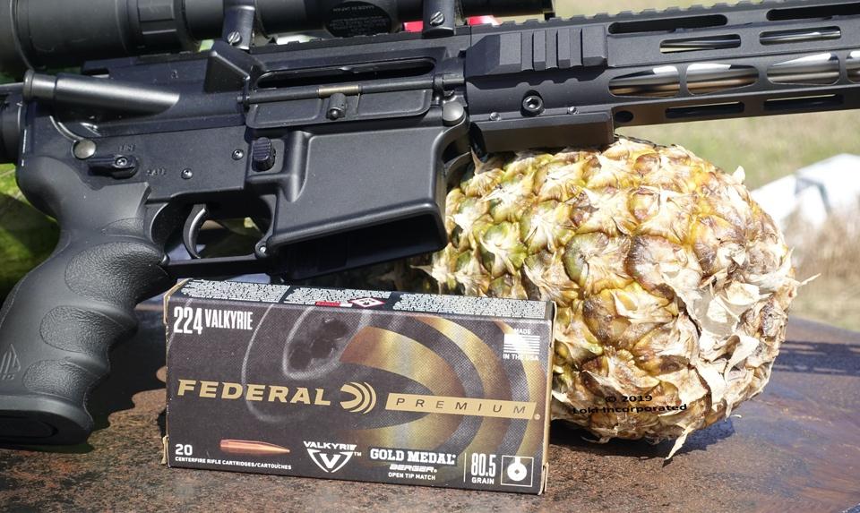 Federal 224 Valkyrie ammo box